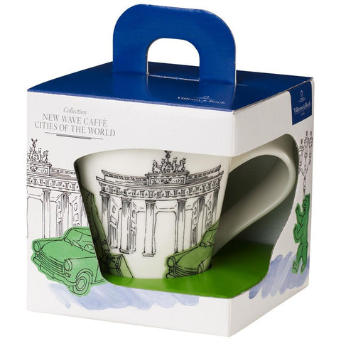 Villeroy and Boch Caffe Berlin Mug 0.35L - Gift Boxed