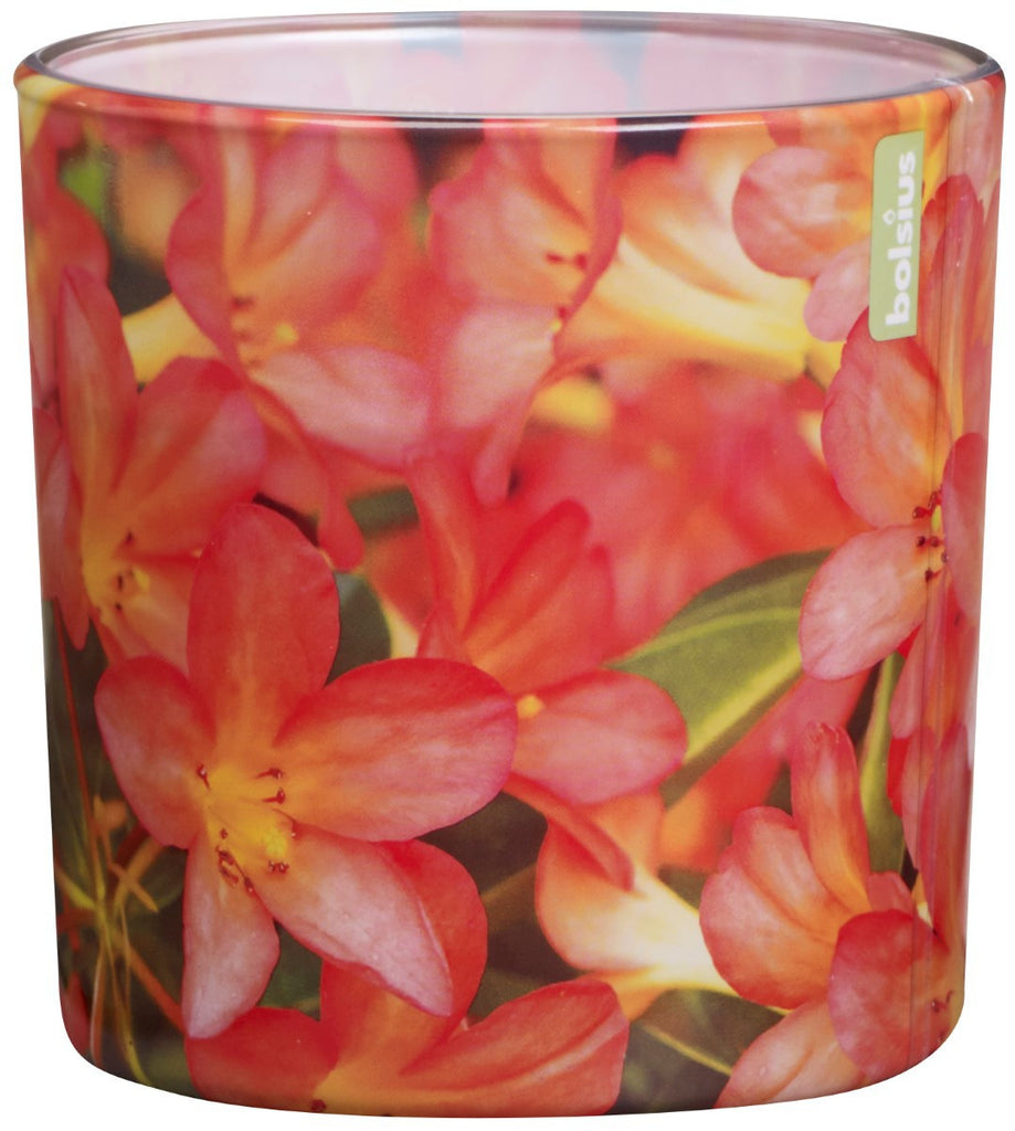 Bolsius Seasonal Azalea Glassware Candle