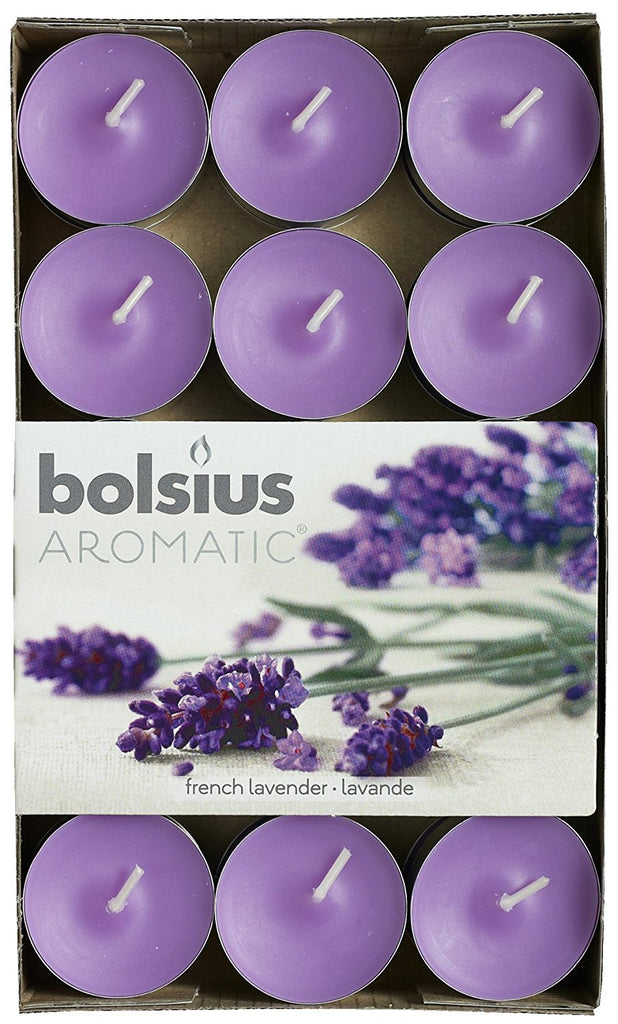 Bolsius Aromatic French Lavender Tealights (Set of 30)