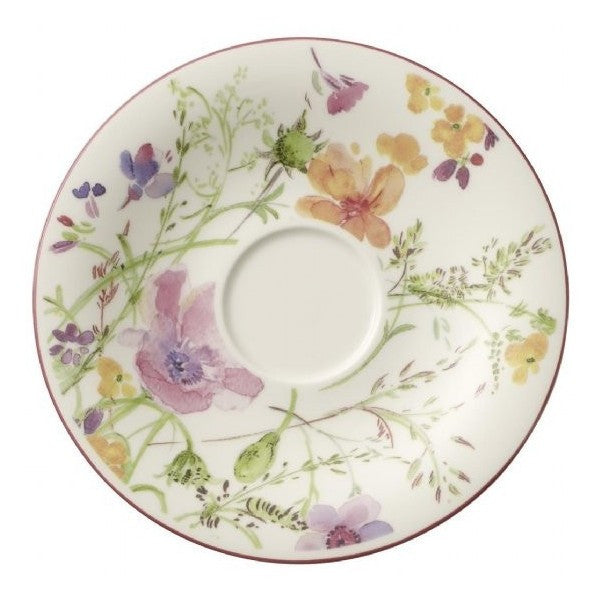 Villeroy and Boch Mariefleur Floral Coffee Saucer 16cm (Saucer Only)