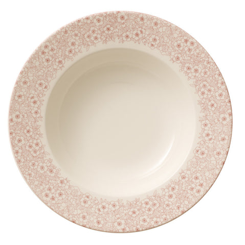Villeroy and Boch Floreana Red Deep Plate 25cm