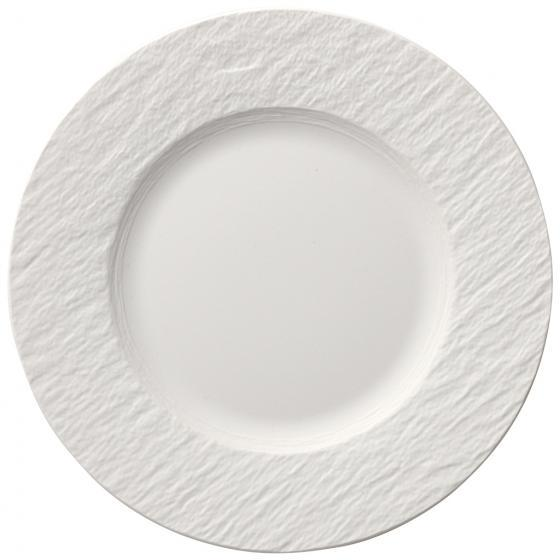 Villeroy and Boch Manufacture Rock Blanc Breakfast Plate