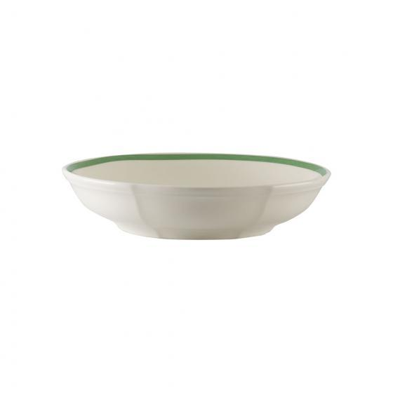 Villeroy and Boch French Garden Green Line Bowl Flat 23,5 by 23,5 by 5Cm
