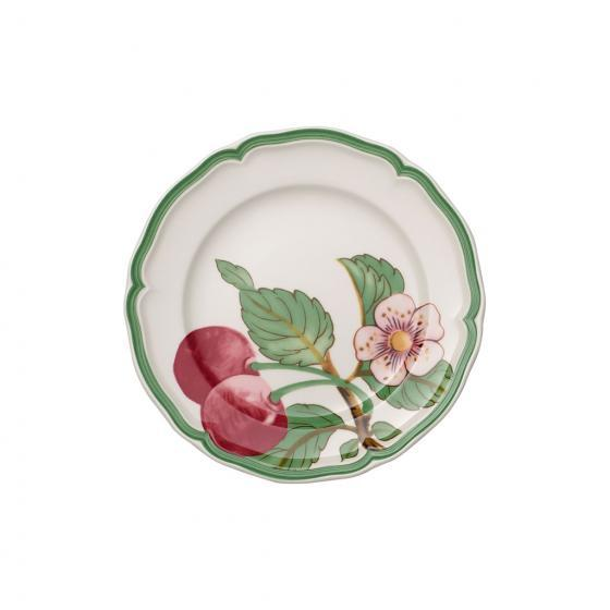 Villeroy and Boch French Garden Modern Fruits Cherry Breakfast Plate 21CM