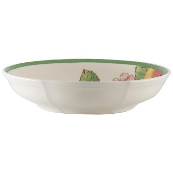 Villeroy and Boch French Garden Modern Fruits Apple Flat Bowl 23,5 by 23,5 by 5CM
