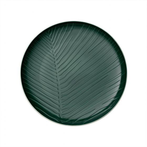 Villeroy and Boch It'S My Match Leaf Green Plate 24cm