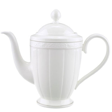 Villeroy and Boch Grey Pearl Coffeepot 1.35L