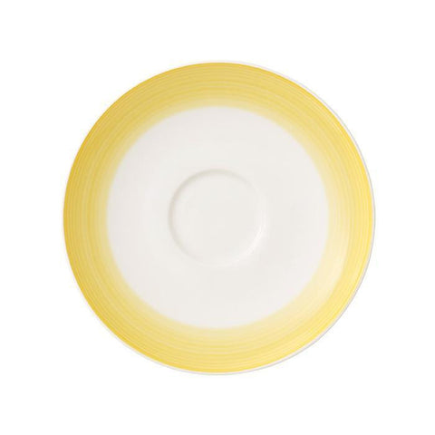 Villeroy and Boch Colourful Life Lemon Pie Coffee Cup Saucer 14cm (Saucer Only)