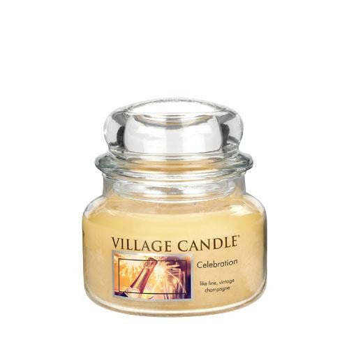 Village Candles Celebration Small Candle Jar