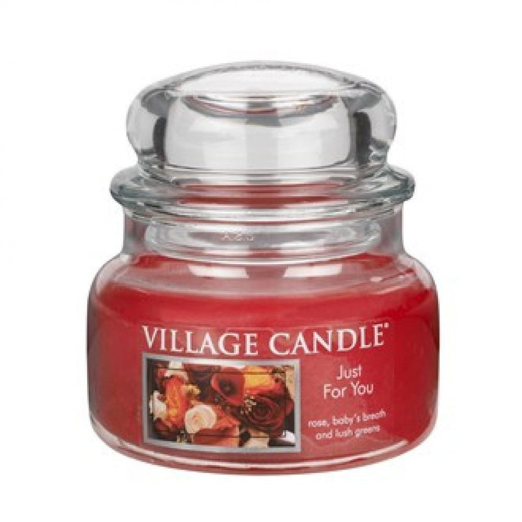 Village Candles Just For You Small Candle Jar
