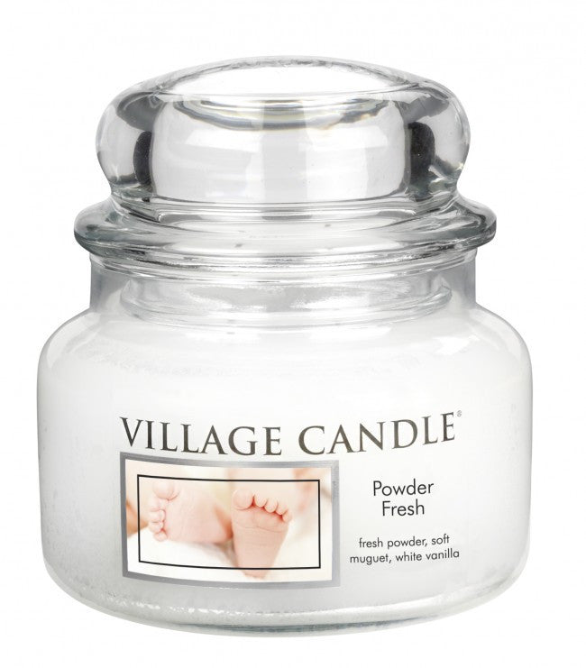 Village Candles Powder Fresh Small Candle Jar