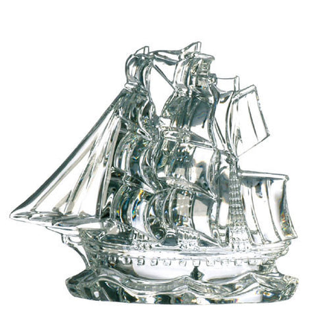 Waterford Crystal Collectables Tall Ship 13.5cm
