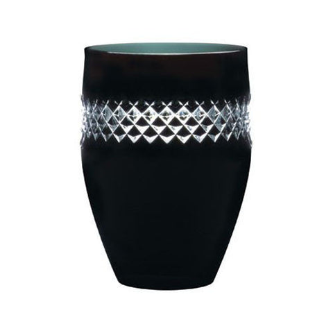 Waterford Crystal John Rocha Black Cut Tumbler 11cm (Pair)