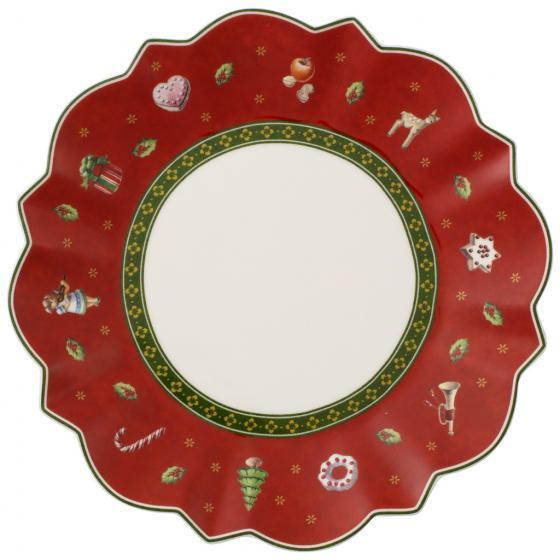 Villeroy And Boch Toy'S Delight Red Bread Plate 17cm