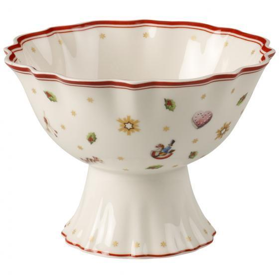 Villeroy And Boch Toy'S Delight Footed Dessert Bowl 15cm