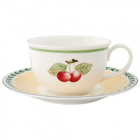 Villeroy and Boch French Garden Large Coffee Cup and Saucer