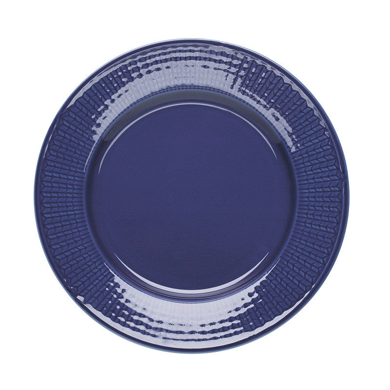 Rorstrand Swedish Grace Sea Blue Dinner Plate 27cm