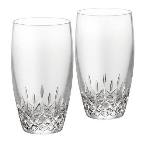 Waterford Crystal Lismore Essence Giftware Hi Ball Tumbler Pair