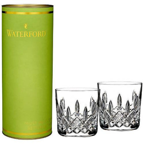 Waterford Crystal Giftology Lismore Old Fashioned Pair 0.25L