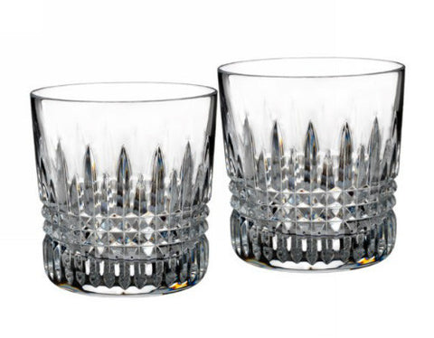 Waterford Crystal Lismore Diamond Old Fashioned Tumbler 9 oz