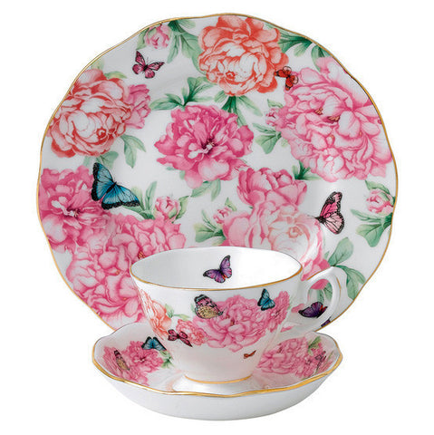 Royal Albert Miranda Kerr Gratitude 3 Piece Tea Set