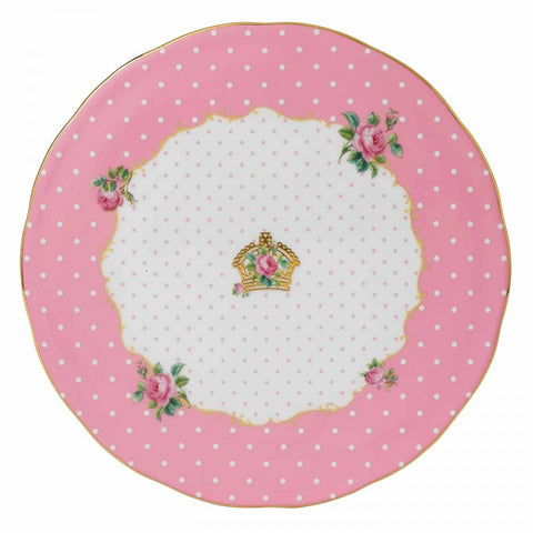 Royal Albert Cheeky Pink Cake Plate 29cm