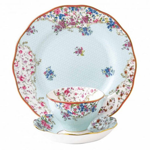 Royal Albert Candy Collection Sitting Pretty 3 Piece Set