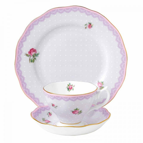 Royal Albert Candy Collection Love Lilac 3 Piece Set