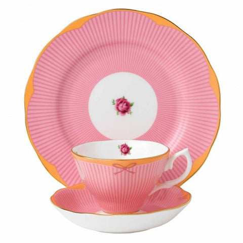 Royal Albert Candy Collection Sweet Stripe 3 Piece Set