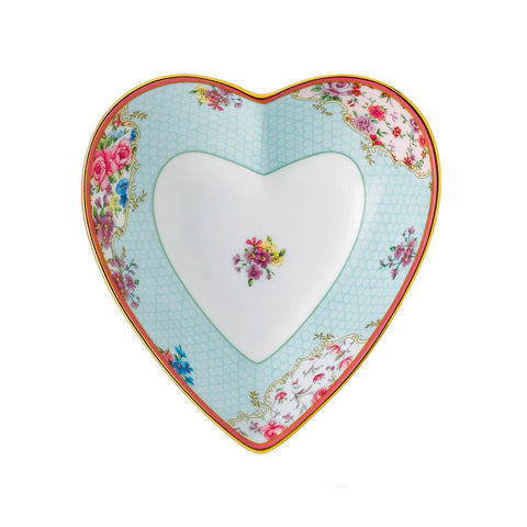Royal Albert Candy Collection Honey Bunny Heart Tray 13cm