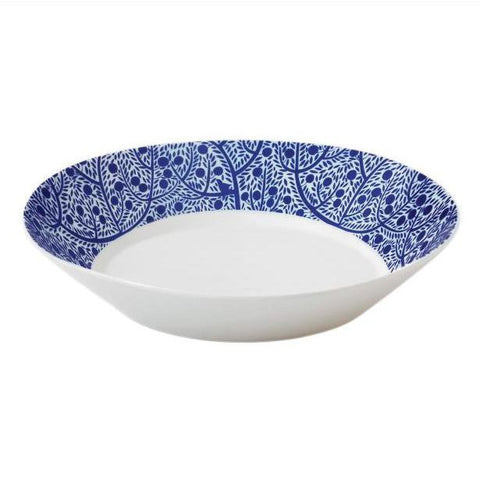 Royal Doulton Fable Blue Tree Pasta Bowl 23cm