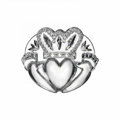 Waterford Crystal Irish Collectables Claddagh Centrepiece 8cm