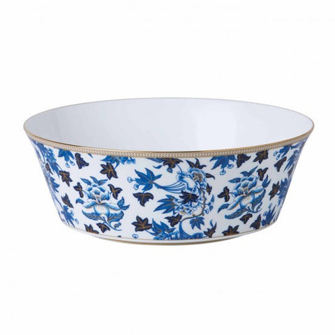 Wedgwood Hibiscus Blue Oval Serving Bowl 1.3L