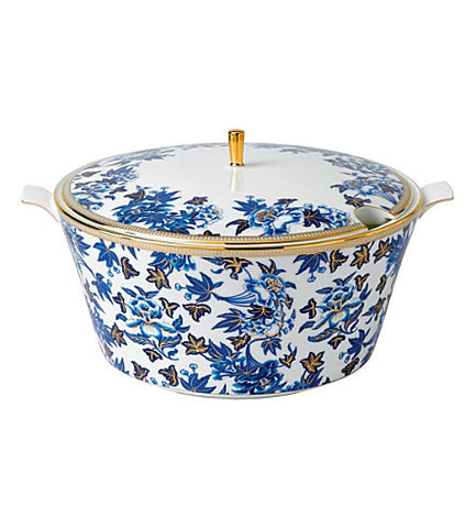 Wedgwood Hibiscus Blue Soup Tureen 3L