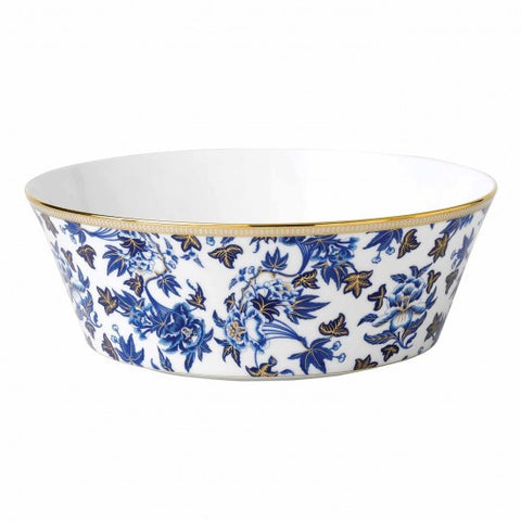 Wedgwood Hibiscus Blue Round Serving Bowl 25cm