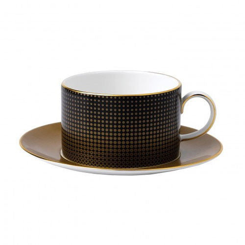 Wedgwood Arris Honeycombe Teacup And Saucer