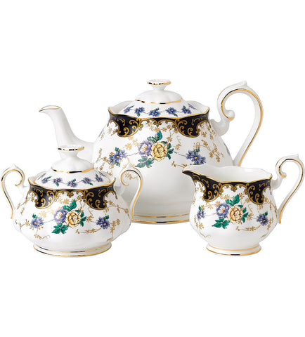 Royal Albert 1910 Duchess 3 Piece Tea Set