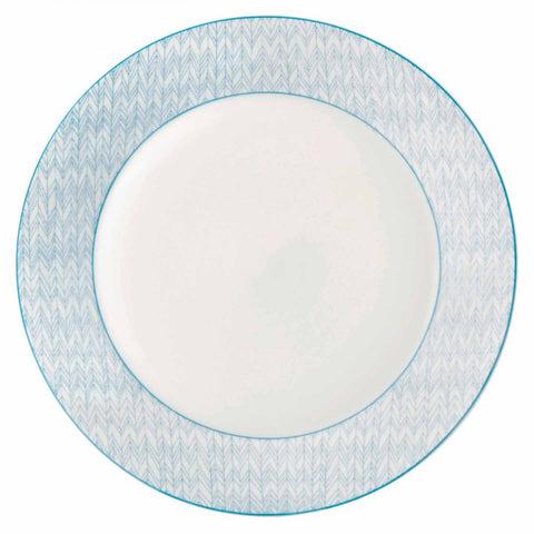 Royal Doulton Pastels Herringbone Dinner Plate 28cm