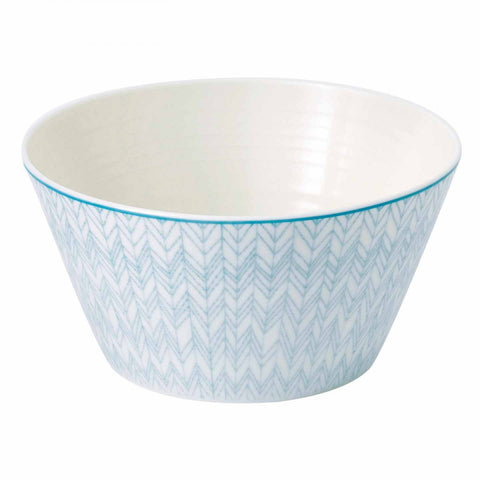 Royal Doulton Pastels Herringbone Cereal Bowl 15cm