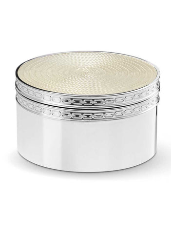 Vera Wang With Love Pearl Covered Box
