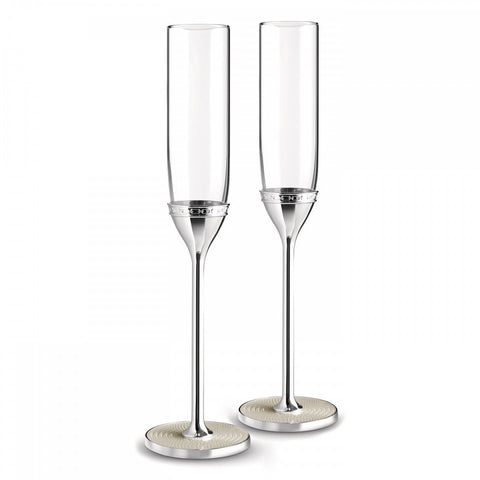 Vera Wang With Love Pearl Toasting Flute (Pair)