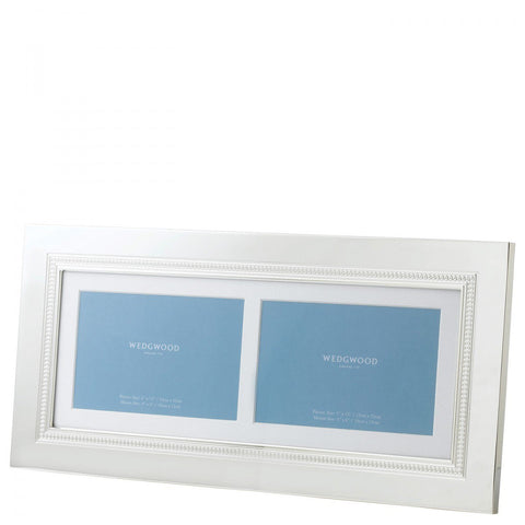 Wedgwood Simply Wish Double Photo Frame 33cm by 18cm
