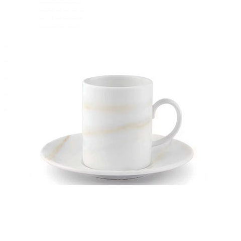 Wedgwood Vera Wang Venato Imperial Espresso Cup and Saucer