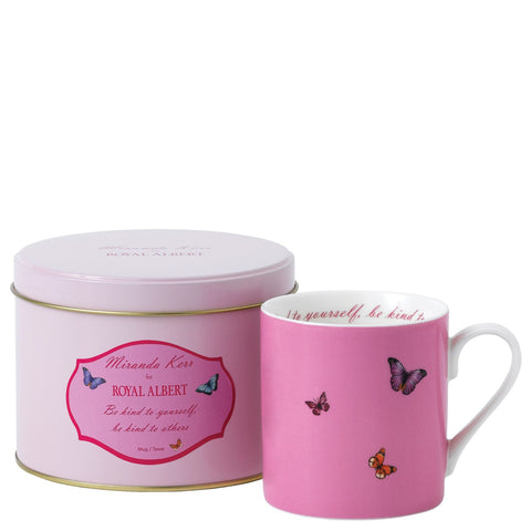 Royal Albert Miranda Kerr Be Kind Mug in Tin 0.29L