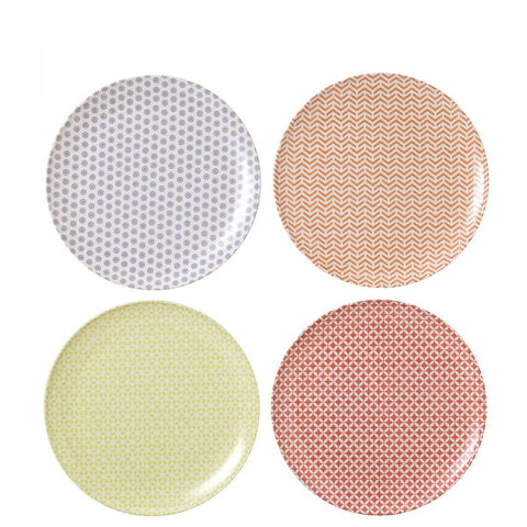 Royal Doulton Pastels Melamine Dinner Plate 25cm (Set of 4)