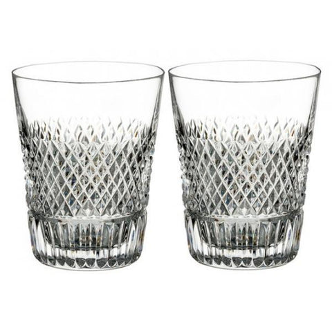 Waterford Crystal Diamond Line Shot Glass (Pair)