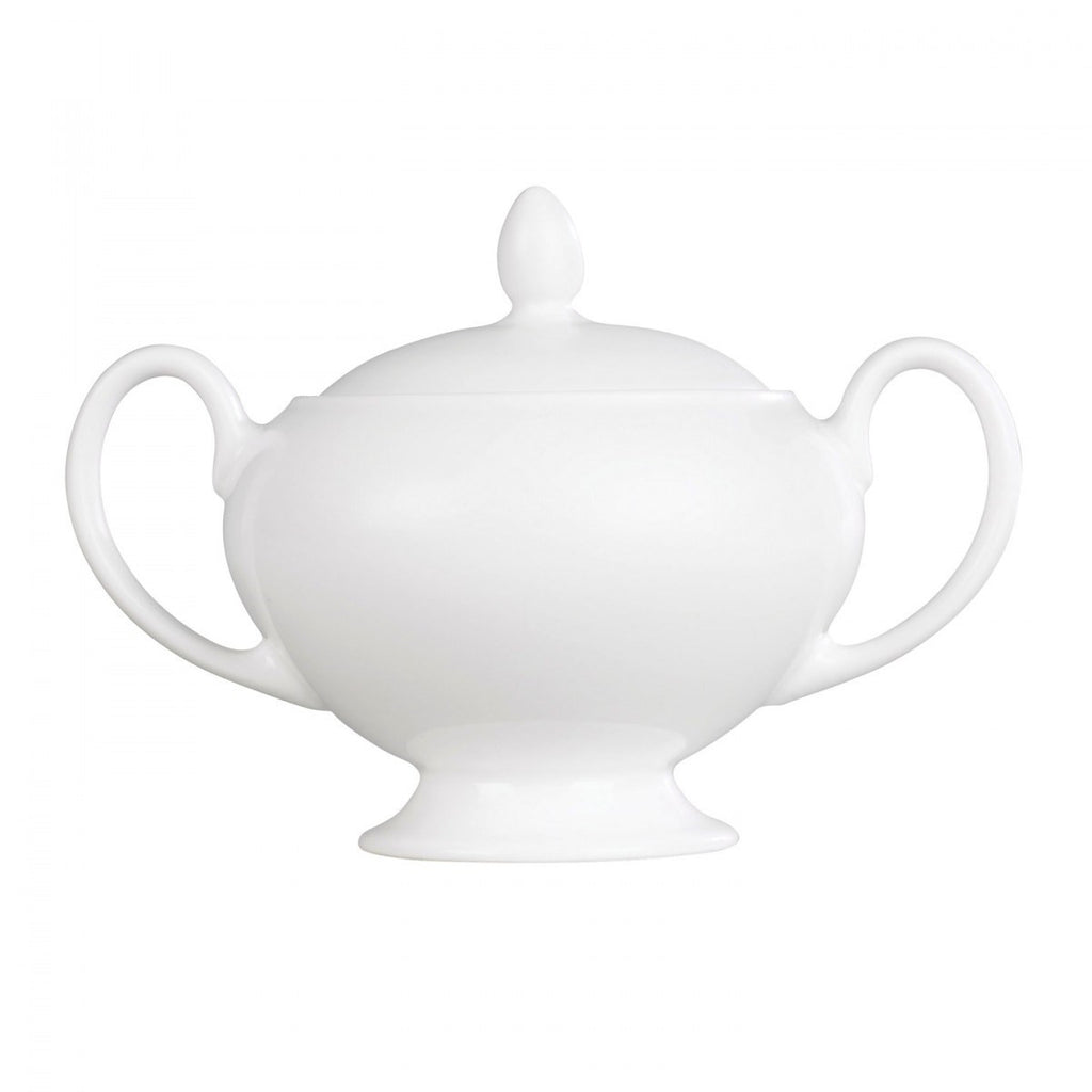 Wedgwood White Sugar Bowl 0.38L