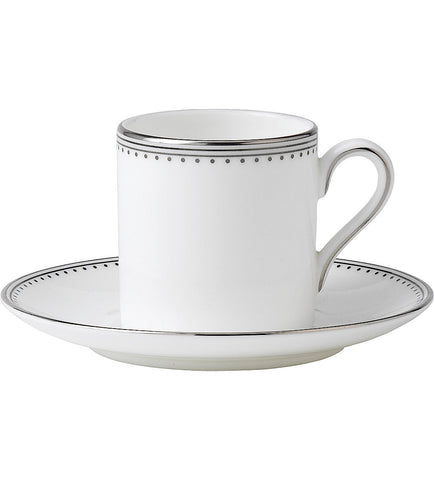 Wedgwood Vera Wang Grosgrain Coffee Cup 0.08L (Cup Only)