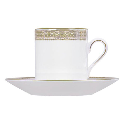 Wedgwood Vera Wang Lace Gold Coffee Cup Saucer (Saucer Only)