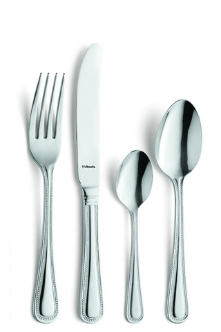 Amefa Bead Monogram 16 Piece Cutlery Set